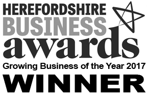Herefordshire Business Awards 2017 Winner - 'Growing Business of the Year'