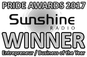 Sunshine Pride Awards 2017 Winner - 'Entrepreneur / Business of the Year'