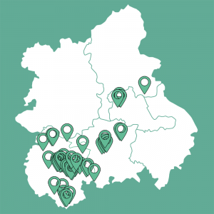 Client Map - West Midlands