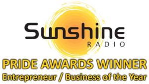 Sunshine Radio Pride Awards Winner Logo