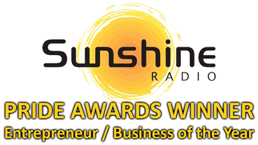 Sunshine Radio Pride Awards Winner Logo