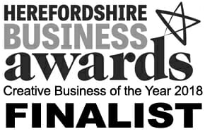 Herefordshire Business Awards 2018 Finalist - 'Creative Business of the Year'