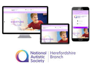 National Autistic Society Herefordshire Branch Website