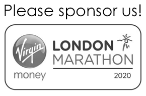 We're running the London Marathon 2020 - please sponsor us!