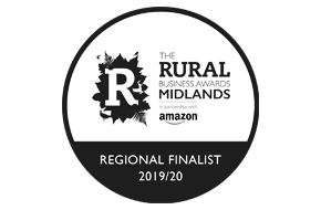 Rural Business Awards Midlands Region Finalist 2019 - 'Best Rural Digital, Communications or Media Business'