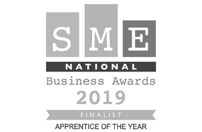 SME National Business Awards 2019 Finalist - Apprentice of the Year (Harvey)
