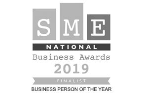 SME National Business Awards 2019 Finalist - Business Person of the Year