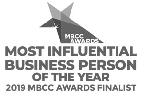 Midlands Business Community & Charity Awards 2019 Finalist - 'Most Influential Business Person of the Year'