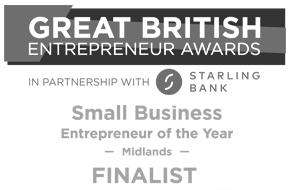 Great British Entrepreneur Awards Midlands Finalist
