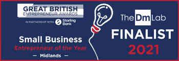 Great British Entrepreneur Awards Regional Finalist