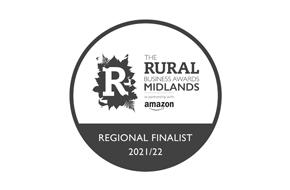 Rural Business Awards Regional Finalist 2021 / 2022